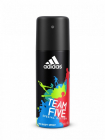 ADIDAS  TEAM FIVE   150 ml -  pánský deodorant