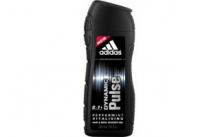 ADIDAS Men 2+1  DYNAMIC pulse pánsk sprch gel  250 ml