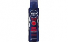 NIVEA FOR MEN DRY IMPACT  150 ml  - pánský anti - respirant