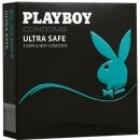PLAYBOY  Ultra Safe 3 ks pánská ochrana